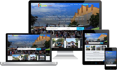Redcliffe Tourism displayed beautifully on multiple devices