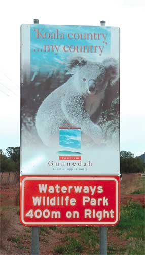 Waterways Wildlife Park - Redcliffe Tourism