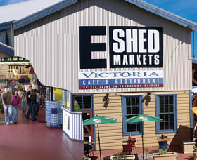 The E Shed Markets - Redcliffe Tourism
