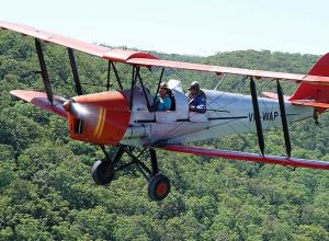 Tigermoth Joy Rides - Redcliffe Tourism
